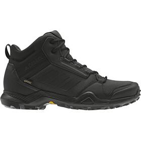 adidas TERREX AX3 Mid Gore-Tex Zapatillas Senderismo Resistente al Agua Hombre, gris/negro